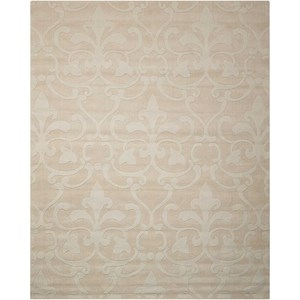 "Nourison Barcelona 5'3"" x 7'4"" Sand Rectangle Rug"