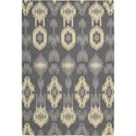 Nourison Barclay Butera Lifestyle - Prism 4' x 6' Pebble Area Rug - Item Number: 20405
