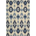 Nourison Barclay Butera Lifestyle - Prism 4' x 6' Indigo Area Rug - Item Number: 30611