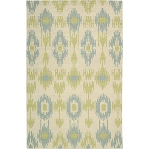 "Nourison Barclay Butera Lifestyle - Prism 7'9"" x 10'10"" Honeydew Area Rug"