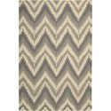"Nourison Barclay Butera Lifestyle - Prism 5'3"" x 7'5"" Sand Dune Area Rug - Item Number: 30626"