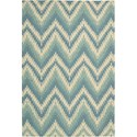 "Nourison Barclay Butera Lifestyle - Prism 5'3"" x 7'5"" Pacific Area Rug - Item Number: 30630"