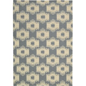"Nourison Barclay Butera Lifestyle - Prism 5'3"" x 7'5"" Slate Area Rug"
