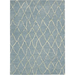 "Nourison Barclay Butera Lyfestyle - Intermix 5'3"" x 7'5"" Wave Area Rug"