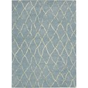 "Nourison Barclay Butera Lyfestyle - Intermix 5'3"" x 7'5"" Wave Area Rug - Item Number: 29060"