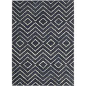 "Nourison Barclay Butera Lyfestyle - Intermix 3'6"" x 5'6"" Storm Area Rug - Item Number: 29063"