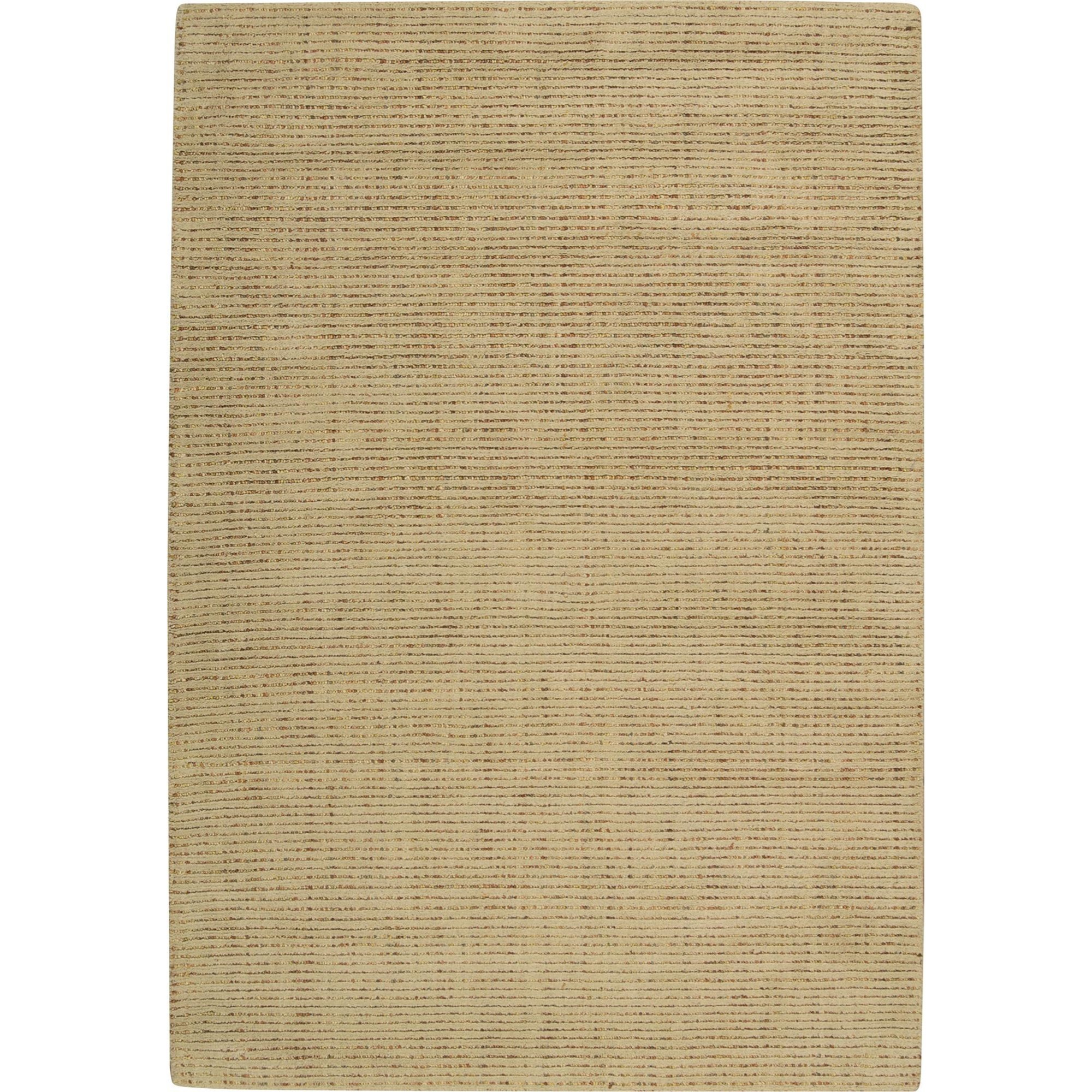 "Nourison Barclay Butera Lyfestyle - Intermix 5'3"" x 7'5"" Wheat Area Rug - Item Number: 29819"
