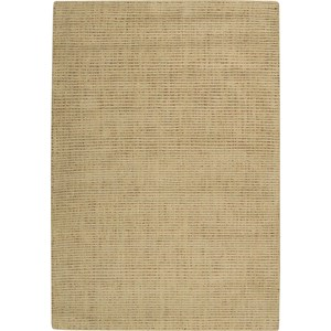 "Nourison Barclay Butera Lyfestyle - Intermix 5'3"" x 7'5"" Wheat Area Rug"