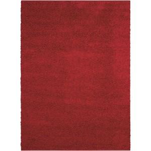 "Nourison Bonita 3'2"" x 5' Red Rectangle Rug"
