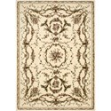 "Nourison Bordeaux 5'3"" x 7'4"" Ivory Area Rug - Item Number: 26377"