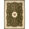 "Nourison Bordeaux 9'10"" x 13'2"" Sage Area Rug - Item Number: 26396"