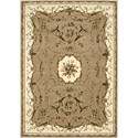 "Nourison Bordeaux 5'3"" x 7'4"" Cream Area Rug - Item Number: 26398"