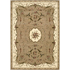 "Nourison Bordeaux 9'10"" x 13'2"" Cream Area Rug"