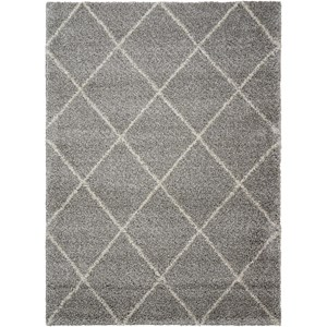 Nourison Brisbane 5' x 7' Ash Rectangle Rug