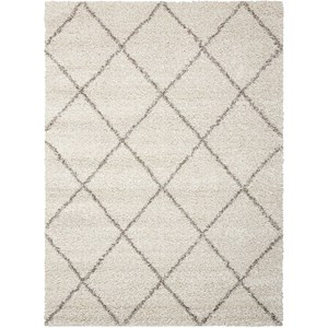 "Nourison Brisbane 8'2"" x 10' Cream Rectangle Rug"