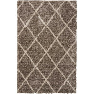 "Nourison Brisbane 3'2"" x 5' Stone Rectangle Rug"