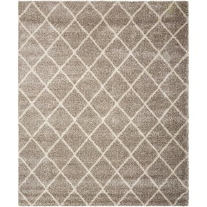 "Nourison Brisbane 8'2"" x 10' Stone Rectangle Rug"