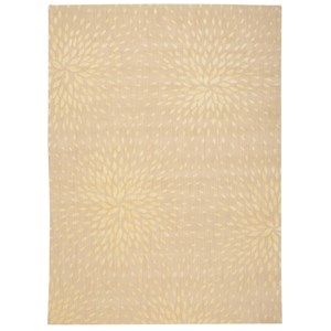 "Nourison Capri 9'6"" x 13' Beige Rectangle Rug"