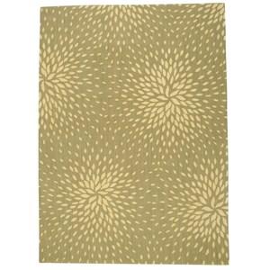 """Nourison Capri 7'9"""" x 10'10"""" Light Green Rectangle Rug"""