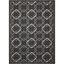 "Nourison Caribbean 5'3"" X 7'5"" Charcoal Rug - Item Number: CRB16 CHARC 53X75"