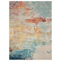 "Nourison Celestial 5'3"" X 7'3"" Sealife Rug - Item Number: CES02 SEALF 53X73"