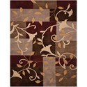 "Nourison Contour 5' x 7'6"" Mocha Rectangle Rug - Item Number: CON01 MOC 5X76"