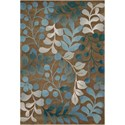 "Nourison Contour 8' x 10'6"" Mocha Rectangle Rug - Item Number: CON02 MOC 8X106"