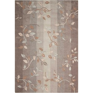 "Nourison Contour 8' x 10'6"" Stone Rectangle Rug"