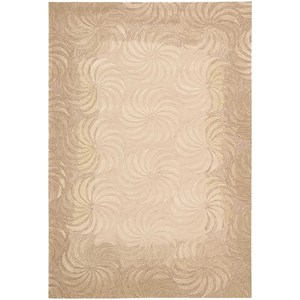 "Nourison Contour 8' x 10'6"" Taupe Rectangle Rug"