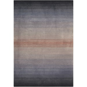 "Nourison Contour 8' x 10'6"" Grey Rectangle Rug"