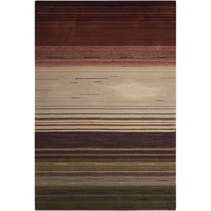 "Nourison Contour 8' x 10'6"" Forest Rectangle Rug"