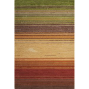 "Nourison Contour 3'6"" x 5'6"" Harvest Rectangle Rug"