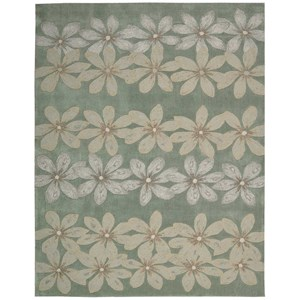 "Nourison Contour 8' x 10'6"" Sage Rectangle Rug"