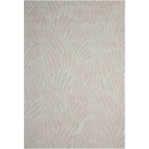 "Nourison Contour 5' x 7'6"" Ivory Rectangle Rug"