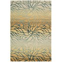 "Nourison Contour 5' x 7'6"" Breeze Rectangle Rug - Item Number: CON25 BREEZ 5X76"