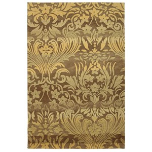 "Nourison Contour 8' x 10'6"" Latte Rectangle Rug"