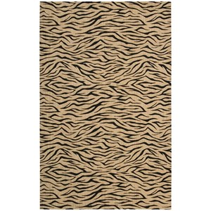 "Nourison Cosmopolitan 3'6"" x 5'6"" Beige Rectangle Rug"