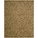 "Nourison Cosmopolitan 9'9"" x 13'9"" Cocoa Rectangle Rug - Item Number: CS29 COC 99X139"