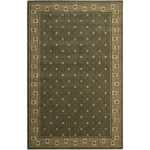 "Nourison Cosmopolitan 3'6"" x 5'6"" Spruce Rectangle Rug"