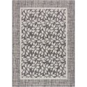 """Nourison Country Side 5'3"""" X 7'3"""" Charcoal             Rug - Item Number: CTR01 CHARC 53X73"""