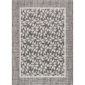"""Nourison Country Side 7'10"""" X 10'6"""" Charcoal             Rug"""