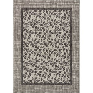 "Nourison Country Side 5'3"" X 7'3"" Ivory/Charcoal       Rug"