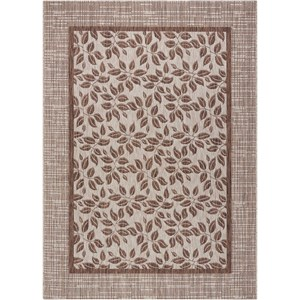 "Nourison Country Side 5'3"" X 7'3"" Natural              Rug"