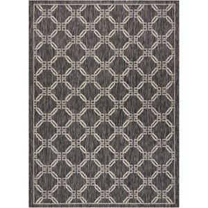 "Nourison Country Side 5'3"" X 7'3"" Charcoal             Rug"