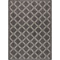 "Nourison Country Side 7'10"" X 10'6"" Charcoal             Rug - Item Number: CTR02 CHARC 710X106"