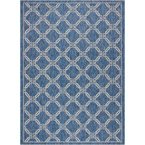 "Nourison Country Side 7'10"" X 10'6"" Denim                Rug"