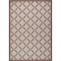 "Nourison Country Side 5'3"" X 7'3"" Natural              Rug - Item Number: CTR02 NATRL 53X73"