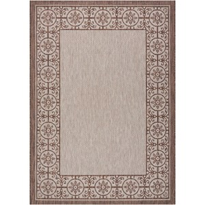 "Nourison Country Side 3'6"" X 5'6"" Natural              Rug"