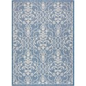 "Nourison Country Side 5'3"" X 7'3"" Denim                Rug - Item Number: CTR04 DENIM 53X73"