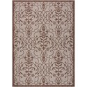"Nourison Country Side 5'3"" X 7'3"" Natural              Rug - Item Number: CTR04 NATRL 53X73"